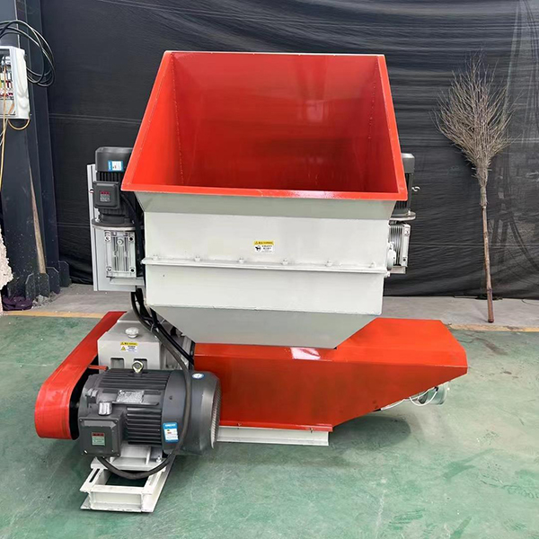 two in one foam crushing and hot melting machine