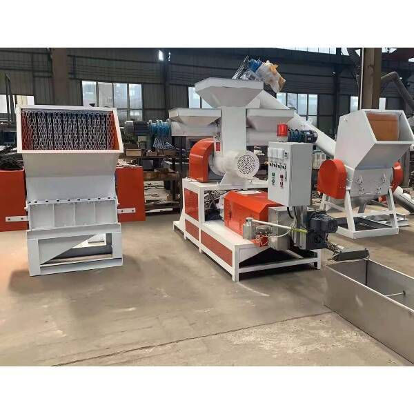 EPS pelletizing machine with intelligent temprature control