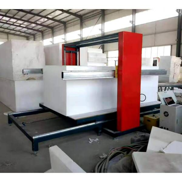 Cantilever type eps cutting machine