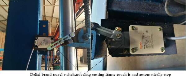 device of eps cutting machine