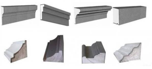 foam mouldings for building wall decoration