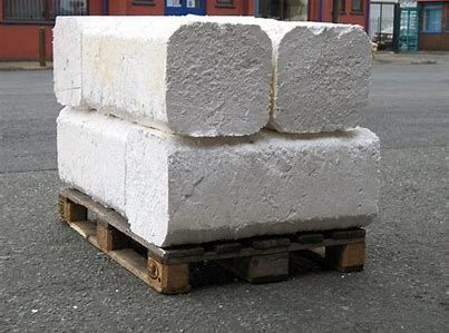 recycled lump from eps foam waste